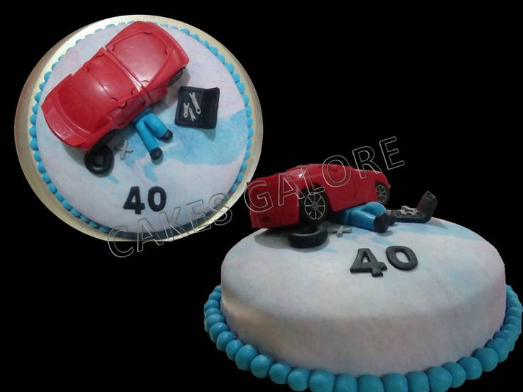 Auto, mechanic cake