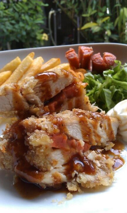 Chicken Katsu - Saus BBQ
