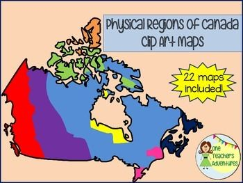 13 best Regions of Canada images on Pinterest  Teaching social