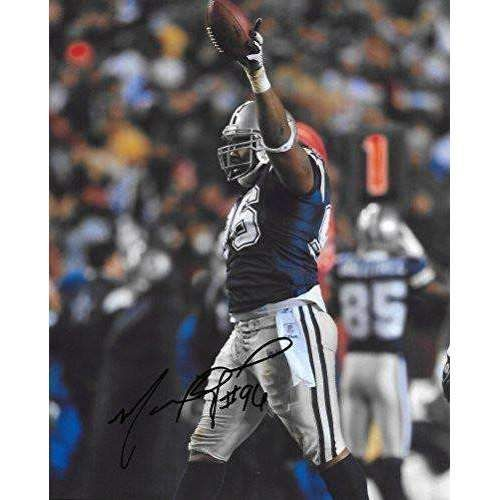 Marcus Spears, Dallas Cowboys, Signed, Autographed, 8x10, Photo, A COA With The Proof Photo Will Be Included.