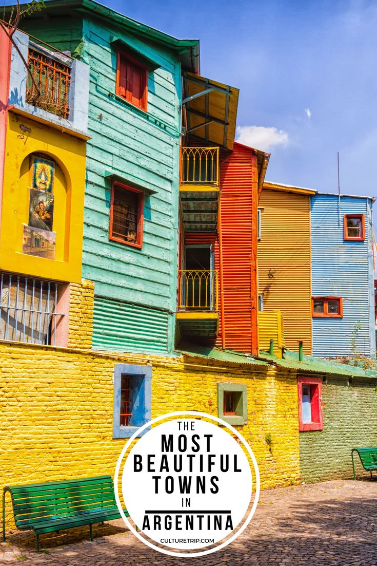 The 10 Most Beautiful Towns In Argentina|Pinterest: theculturetrip