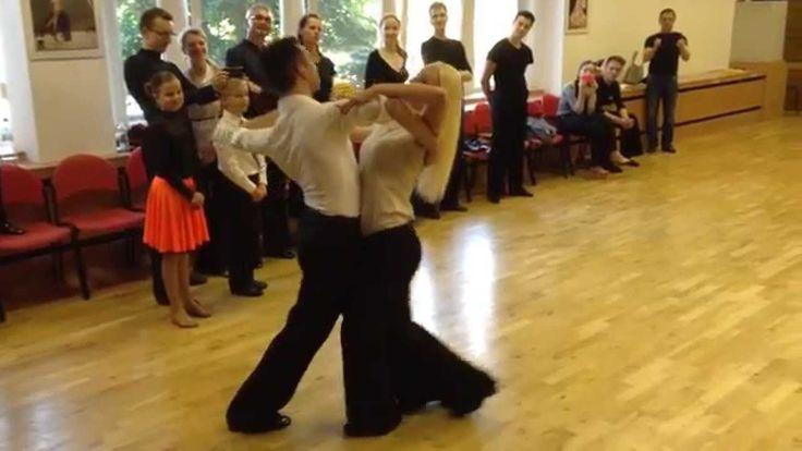 Andrea Ghigiarelli & Sara Andracchio - Prague 23.6. 2014 - slowfox