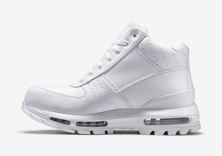 buy popular 4c3d9 06953 ... nike-air-max-goadome-all-white-3 kickz Pinterest Nike ...
