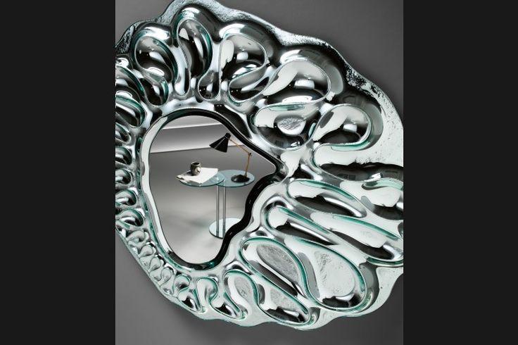 Design Mirror CALDEIRA | FIAM | Italian design | GlazenDesignTafel.nl | design by Xavier Lust | ART | Interior design | vidre glastoepassingen, Leiden