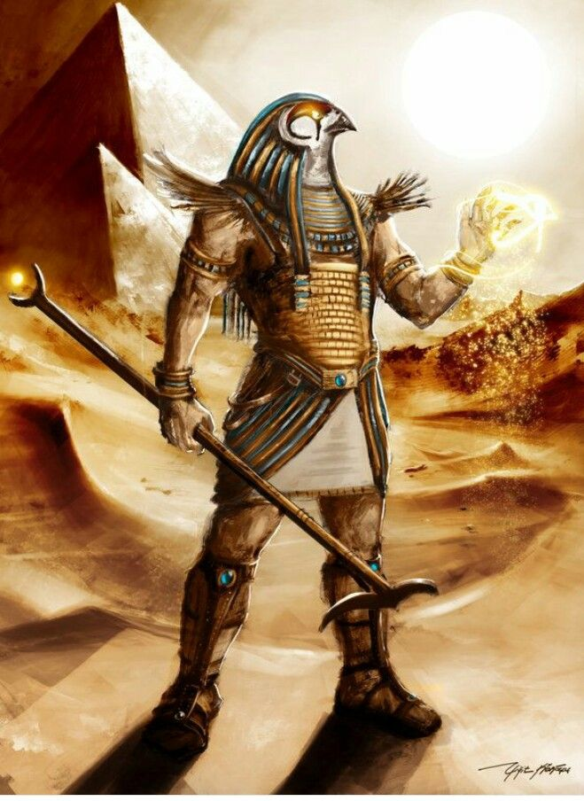 Horus...god of war | Egyptian mythology | Egyptian goddess ...