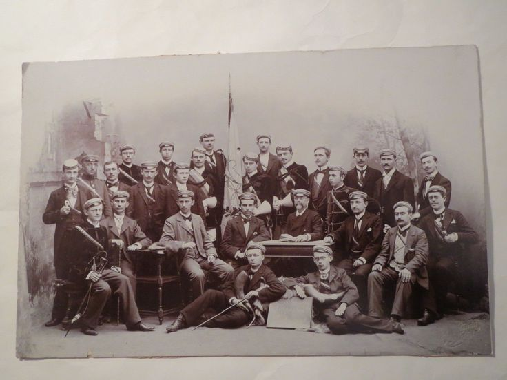 Leipzig Verbindung Nordalbingia Sommer 1900 Großes Gruppenfoto Studentika | eBay