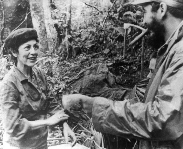 "10 Amazing Female Revolutionaries You've Probably Never Heard Of -Fighting alongside Fidel Castro and Che Guevarra, and organizing some of the Cuban Revolution's key stages, was Celia Sanchez, although the rebels called her ""La Paloma,"" the Dove."