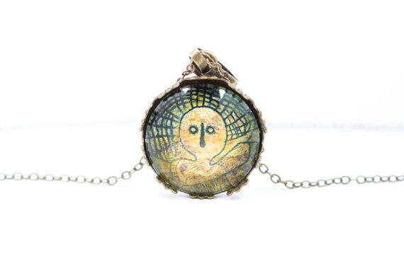 Head necklace [Cave Art Collection]