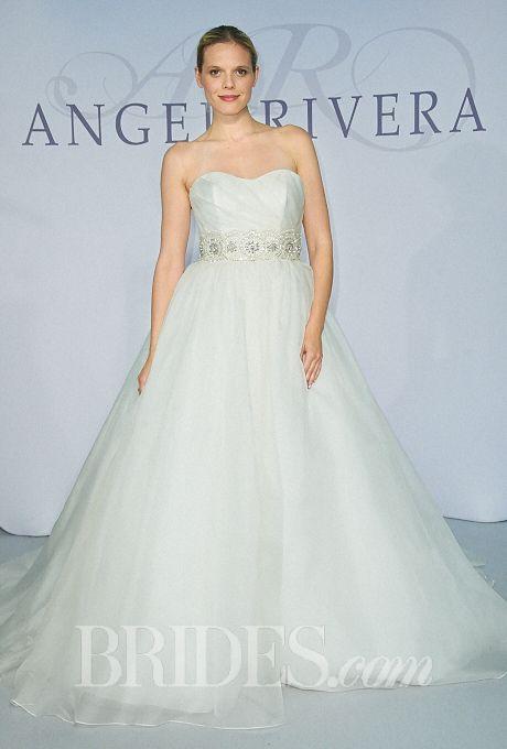 Angel Rivera Wedding Dresses Fall 2014 Bridal Runway Shows Brides.com | Wedding Dresses Style | Brides.com