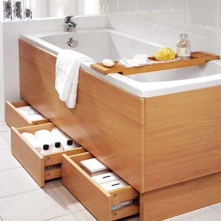 Les 25 meilleures id es de la cat gorie tablier de for Fabriquer un pare baignoire