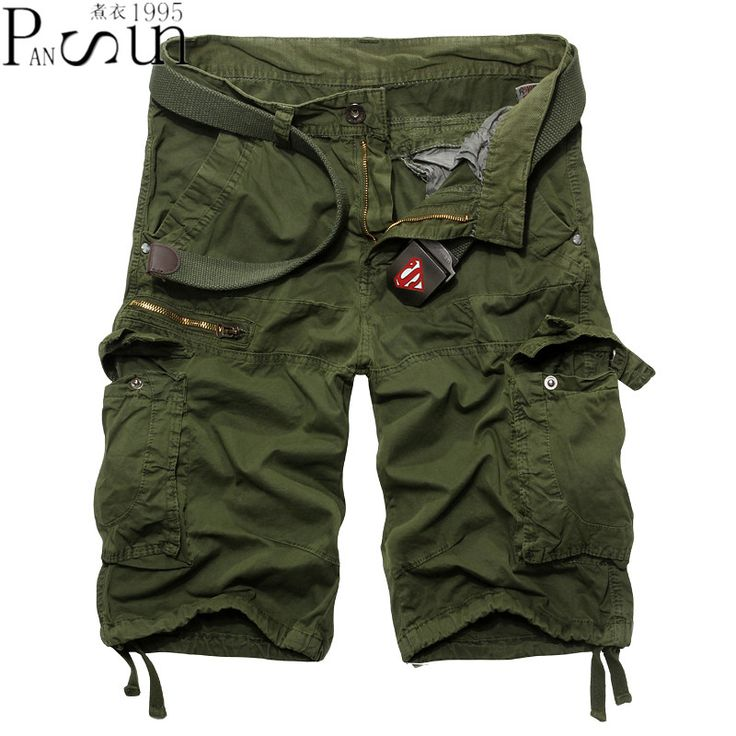 Summer Shorts Mens 2017 Hip Hop Cotton Shorts Military Camouflage Shorts Big Pocket Tooling Short Pants Fashion Brand Clothing