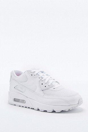 Nike - Baskets Air Max 90 Premium blanches