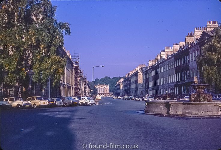 Great Pulteney Street Bath in October 1975