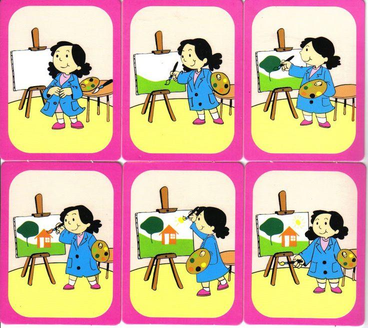 secuencias dibujos