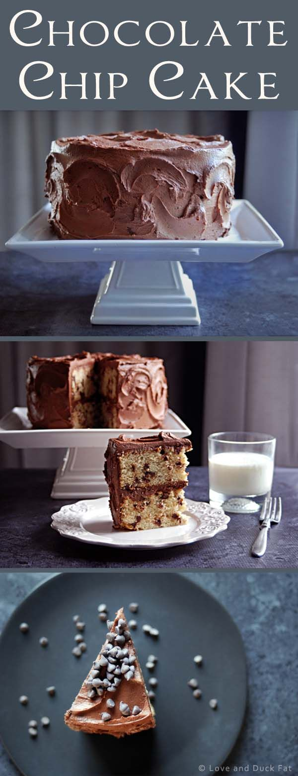 Chocolate chip layer cake | Recipe | Chocolate Chip Cake, Chips and ...