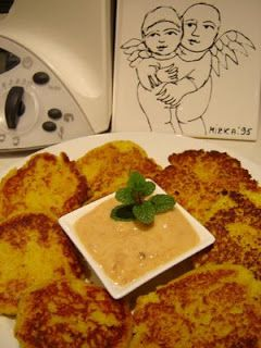 Thermomixer: Thermomix Cauliflower & Chickpea Patties