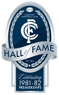 Carlton Football Club Hall of Fame logo