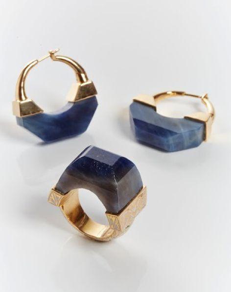 #JadeJagger Neverending Sapphire ring