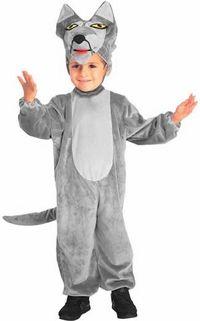 toddler big bad wolf costume #ChildrensCostume #HalloweenCostume #Halloween2014