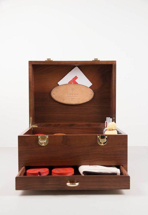 Shoe polish Box- SWEET!