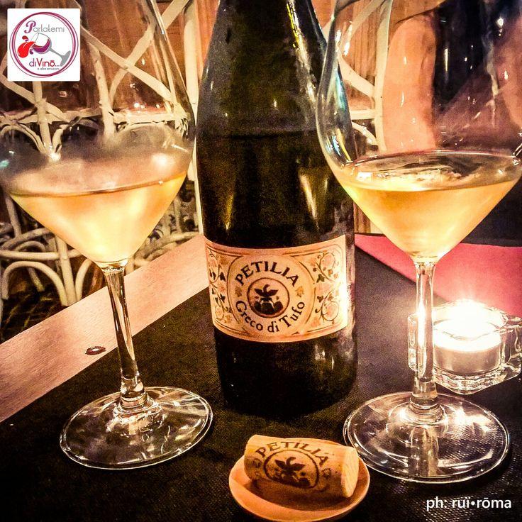 """Parlatemi di Vino... Greco di Tufo, DOCG, Azienda Agricola Petilia, Irpinia - Avellino #telodicoiodove da """"Treqquarti"""" a Somma Vesuviana! @treqquarti #GrecoDiTufo #greco #tufo #irpinia #campania #docg #petilia #treqquarti ##bianco #white #wine #vino #uva #winelover #stile #instagood #Italia #italy #style #solocosebuone  #italianwine #vinoitaliano #winelover #ruiroma #parlatemidivino https://www.facebook.com/parlatemidivino"""