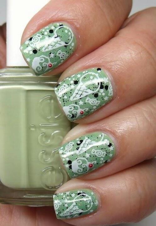 Mejores 166 imágenes de Nails en Pinterest   Maquillaje, Decoración ...