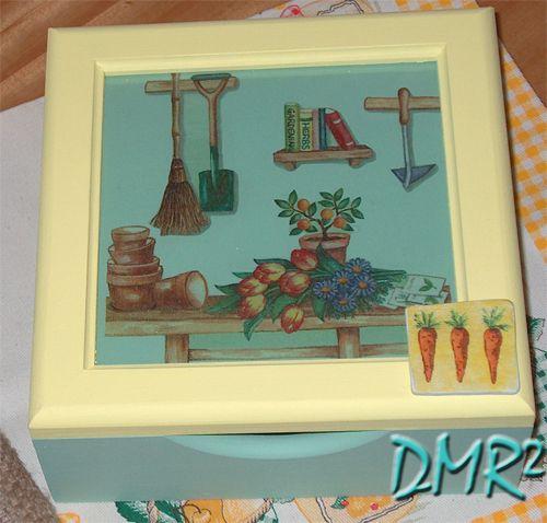 DMR²: BOX FOR NAPKINS - DECOUPAGE