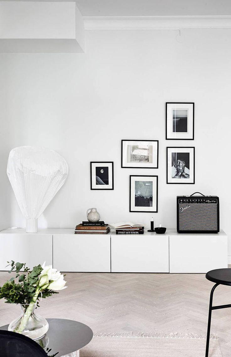 Stylish Living Room Via Coco Lapine Design
