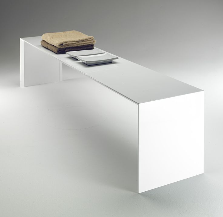 The alumnium Square Bench heating element cum bench by Ludovica and Roberto Palomba for Italian brand Tubes Radiatori. Nice.