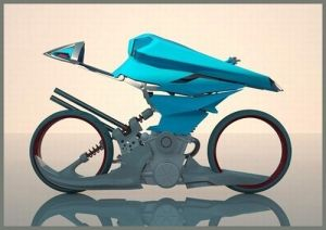 Buell H, Hydrogen Fuel Cell, Motorcycle, future, Niels Grubak Iversen, motorbike, electric vehicle, ev, futuristic, concept by FuturisticNews
