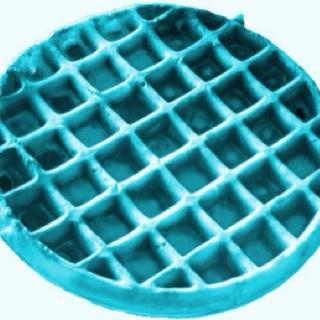 Blue waffle anyone? haha