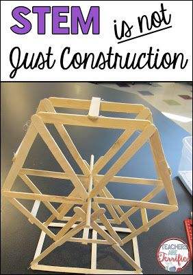 STEM is about construction, building, designing, but we do more than that! We write all the time. Reflections, improvements, data tables, graphing, and more. Check this blog post for details!