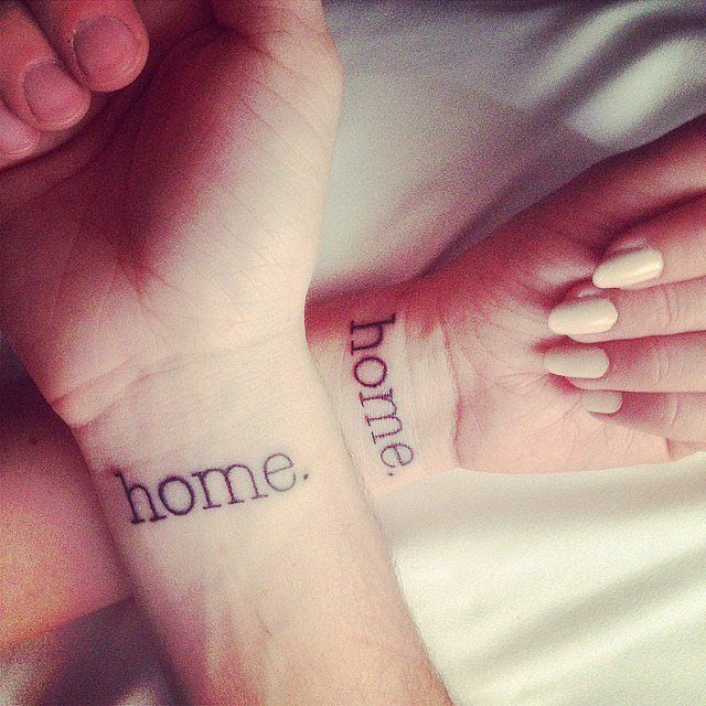 Matching Tattoo Ideas | POPSUGAR Love & Sex