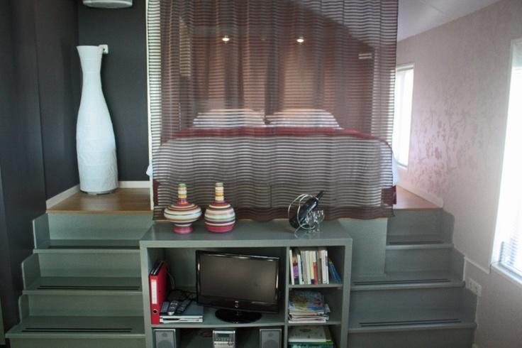 Een goede oplossing voor een klein appartement klein appartent pinterest - Een klein appartement ontwikkelen ...