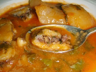 Iraqi Kubba-Turnip Soup