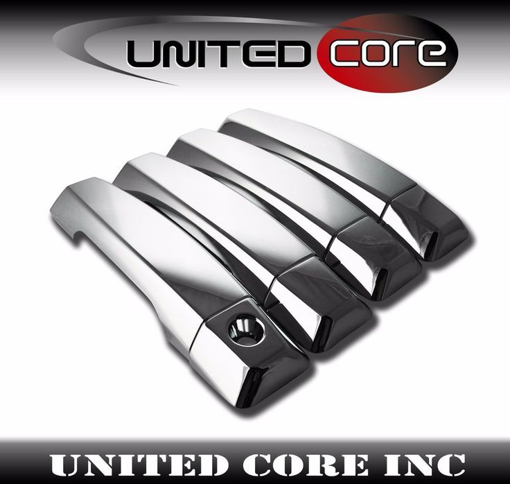 Details About Chrome Door Handle Cover 4 Door For Nissan Titan 04 15 Chrome Door Handles Nissan Titan Door Handles
