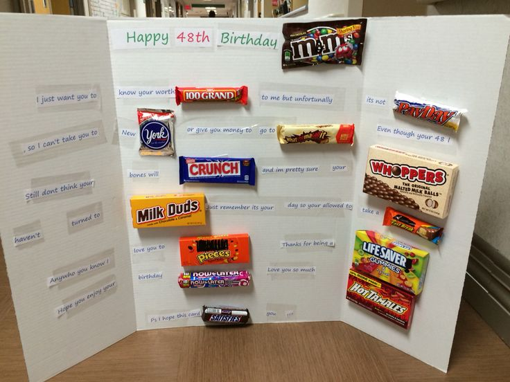 Best 25 Candy Birthday Cards Ideas On Pinterest Candy