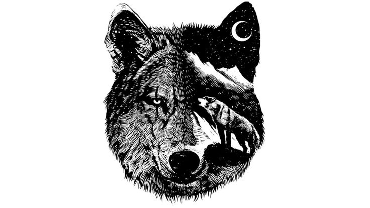 Night wolf is a T Shirt designed by barmalizer to illustrate your life and is…