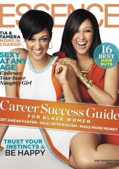 Tia and Tamera Grace the April Cover of ESSENCE.