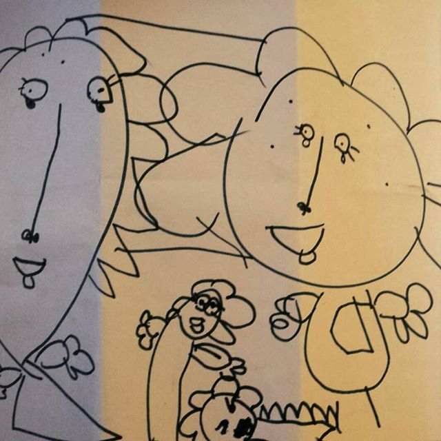 #drawing #mygenius #5yearsold #mypainter