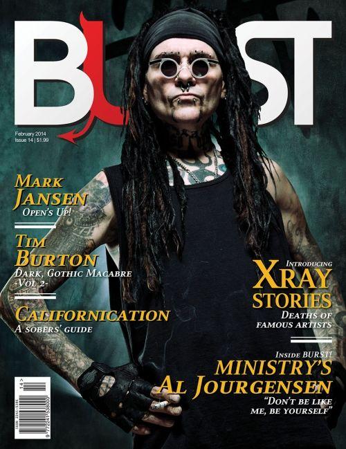 BURST Magazine Issue 14, February 2014