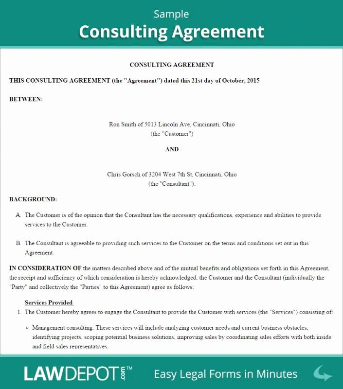 Short Consulting Agreement Template Awesome Consulting Agreement Template Short Contract Template Marketing Consultant Retainer Agreement