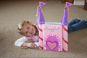 Creative Valentine Box #6 - Castle