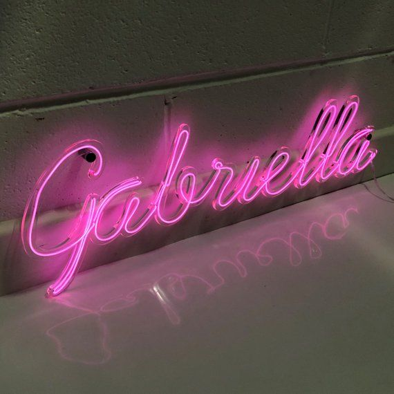Personalised Neon Sign Handmade Neon El Wire Art Neon Wall Etsy Personalized Neon Signs Neon Signs Custom Neon Signs