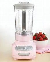 Image result for kitchenaid blender in pink