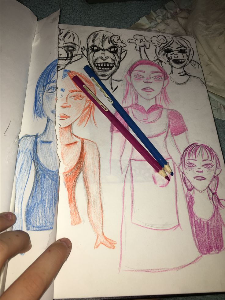 #art #sketch hey guys I drew this picture kinda like walking dead lol❤️