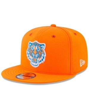 New Era Boys' Detroit Tigers Players Weekend 9FIFTY Snapback Cap - Blue Adjustable