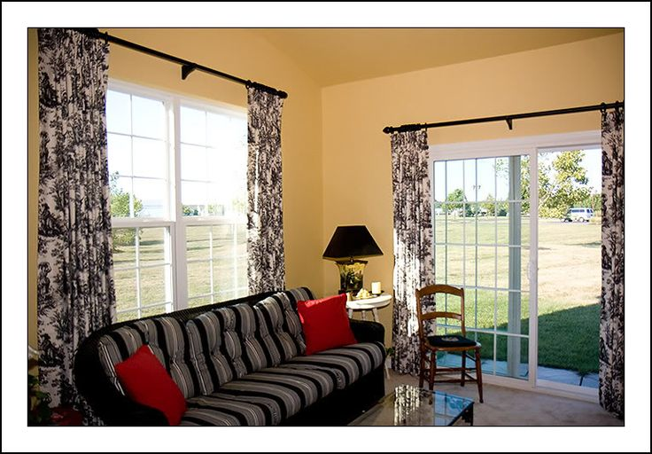 1000 images about drapes for sliding glass doors on. Black Bedroom Furniture Sets. Home Design Ideas