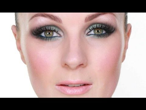 One (technically two) of my Top 5 Fav Make up artists~ Pixiwoo Sam and Nic(this video is Nic)-- Blue/Green Smokey Eye Makeup Tutorial