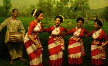Aasamee Cultural Folk Dance (Bihu) | Assam Meghalaya ...